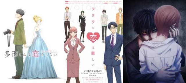 anime romance terbaik 2018, anime romance 2018 yang bagus, anime terbaru romance tahun 2018