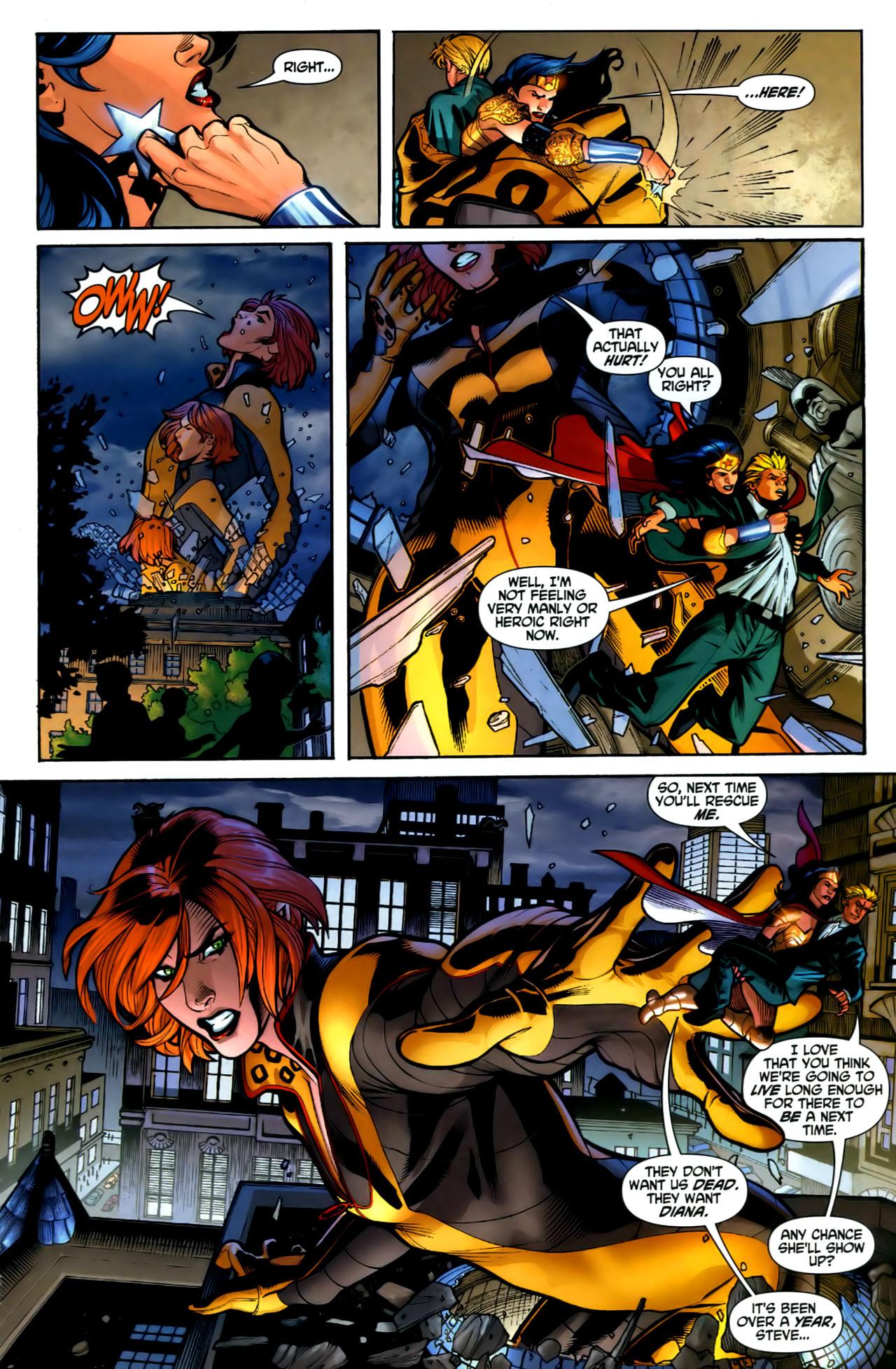 Read online Wonder Woman (2006) comic -  Issue #1 - 14