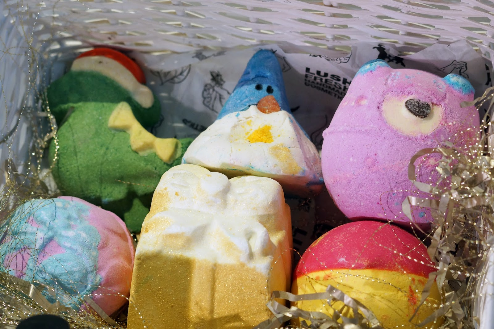 Lush Christmas Halloween Bath Bombs Products Beauty Review