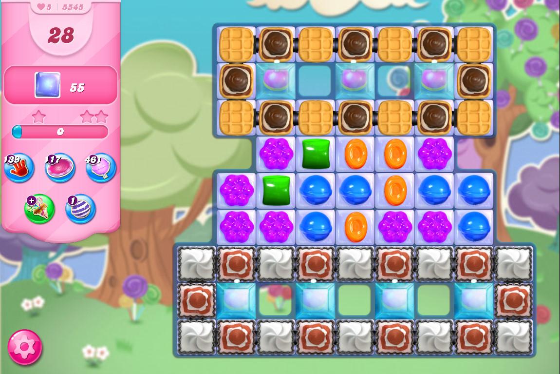 Candy Crush Saga level 5545