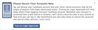 فيسبوك تكشف عن طريقتها الجديدة لتأمين حسابات المستخدمين من القرصنة