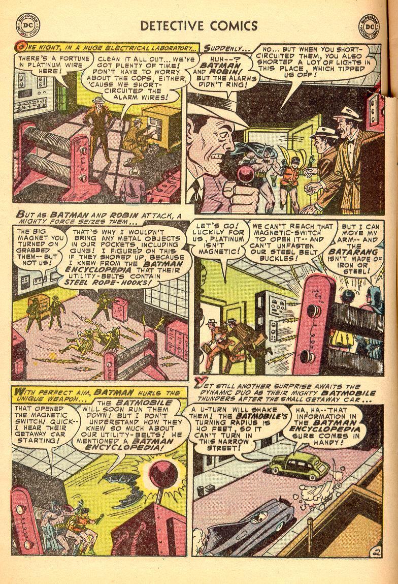 Read online Detective Comics (1937) comic -  Issue #214 - 4