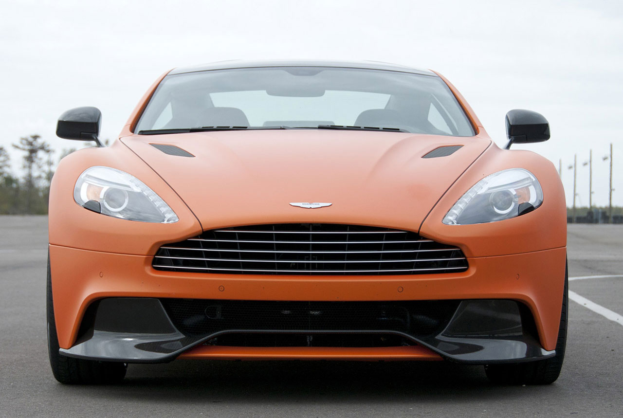 2014 Aston Martin Vanquish Car Top Of Design Trend