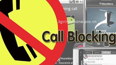 Dịch vụ chặn cuộc gọi - Call Blocking Vinaphone