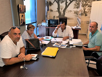 Συνάντηση Δημάρχου Φυλής με τον Σύλλογο της Ζωφριάς