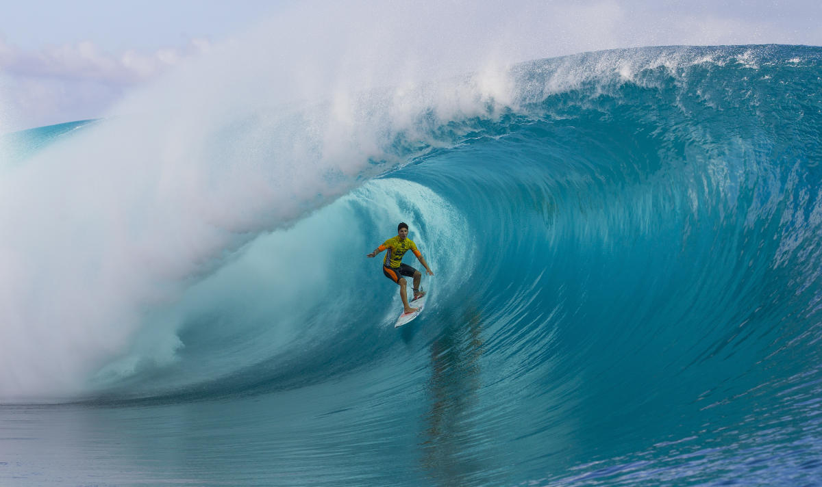 The Tahiti Pro Teahupo o - For the Fearless By Nature