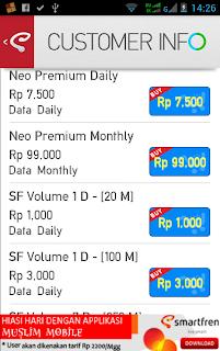 Hematnya Paket Internet Neo Regular Smartfren