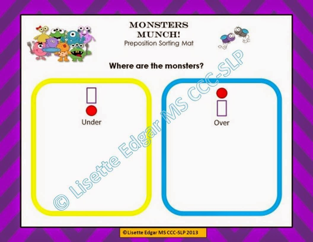 http://www.teacherspayteachers.com/Product/Monsters-Munch-Speech-Therapy-Prepositions-Game-903278