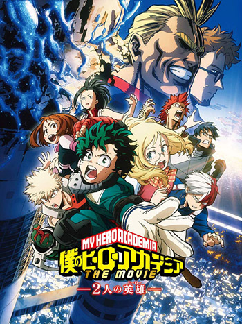 My Hero Academia Two Heroes 2018