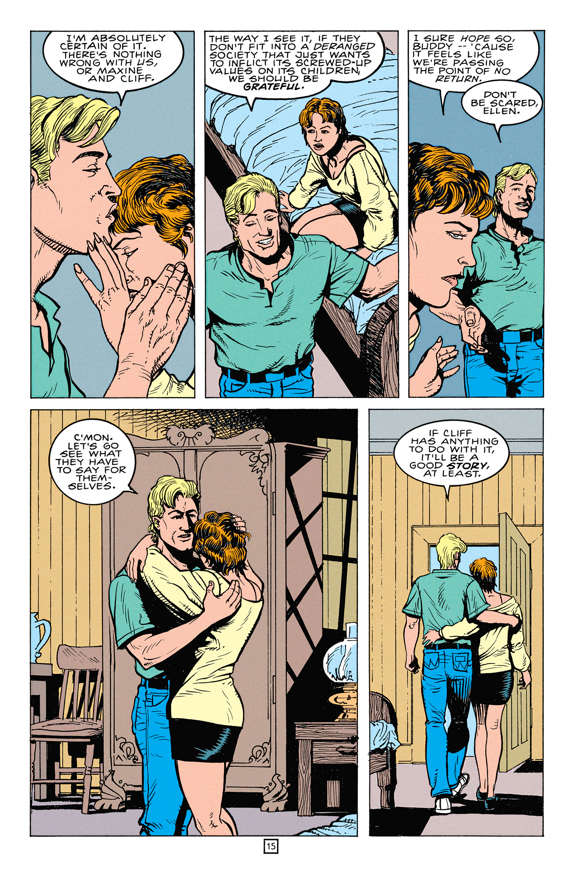 Read online Animal Man (1988) comic -  Issue #64 - 16