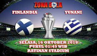 Prediksi Bola Finlandia vs Yunani 16 Oktober 2018