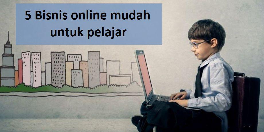 5 Bisnis online mudah untuk pelajar - antapedia.com