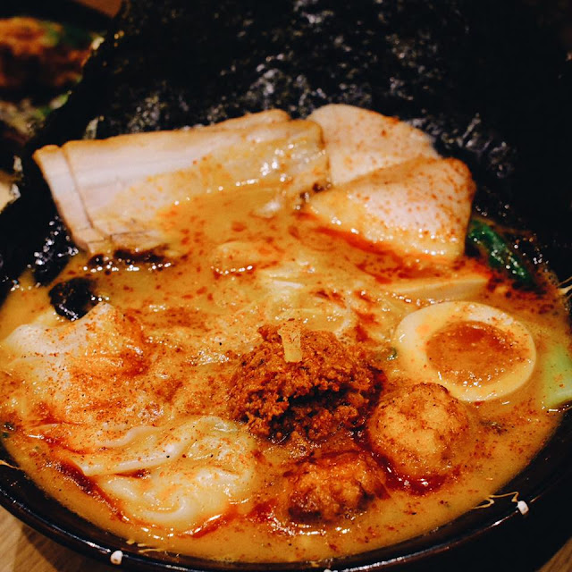 Spicy Miso Lobster Ramen Special