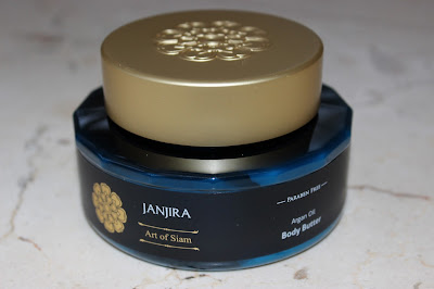 Janjira Art of Siam Argan Oil Body Butter review