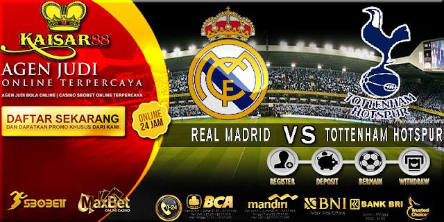 PREDIKSI TEBAK SKOR JITU LIGA UEFA CHAMPIONS LEAGUE REAL MADRID VS TOTTENHAM HOTSPUR 18 OKTOBER 2017