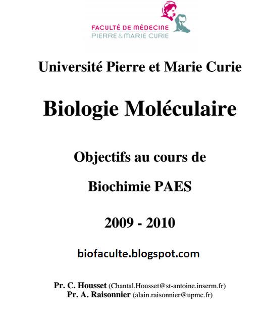 Bio moléculaire