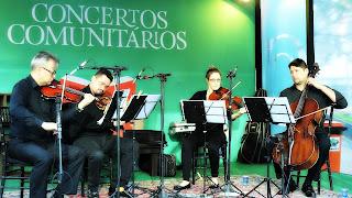 Orquestra Unisinos - Quarteto de Cordas na Feira do Livro de Porto Alegre 2016