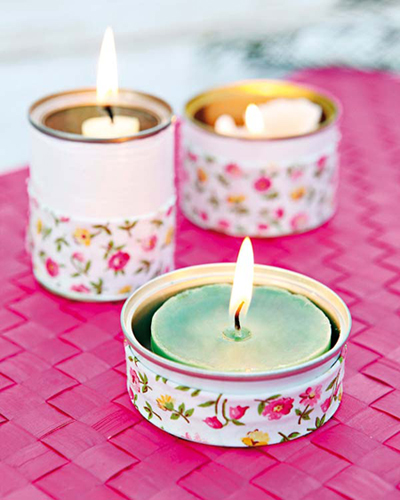 5 ideas para decorar una lata con washi tape pintura o - Decorar con washi tape ...