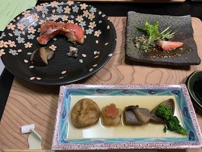 桜田温泉 夕食その2