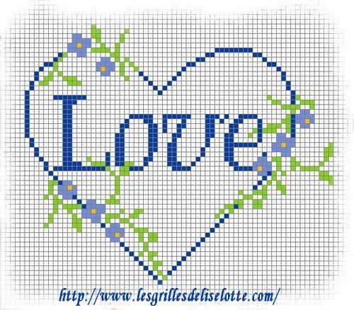 Dia dos Namorados Especial Em Ponto Cruz Com Gráficos78
