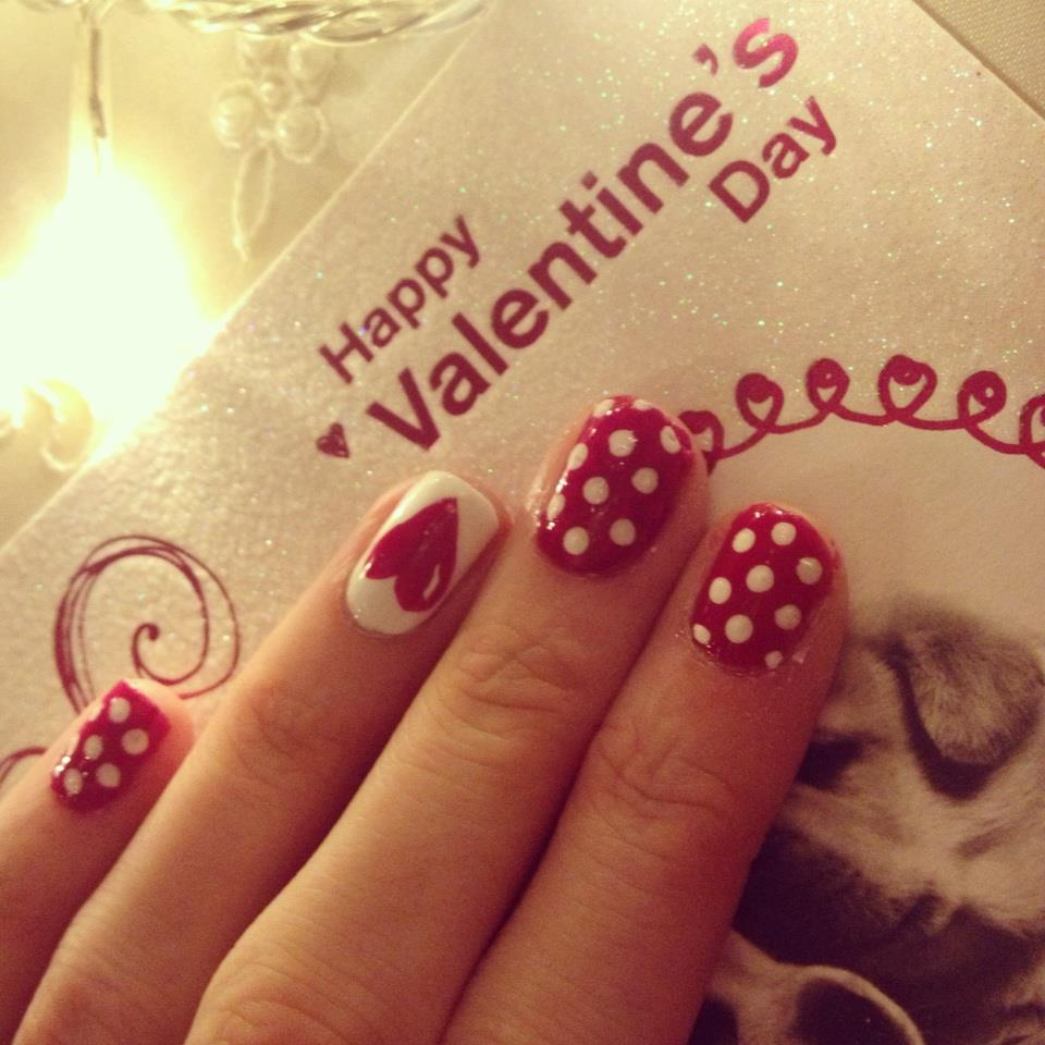Nails By Mellissa.: Valentines Day Nails