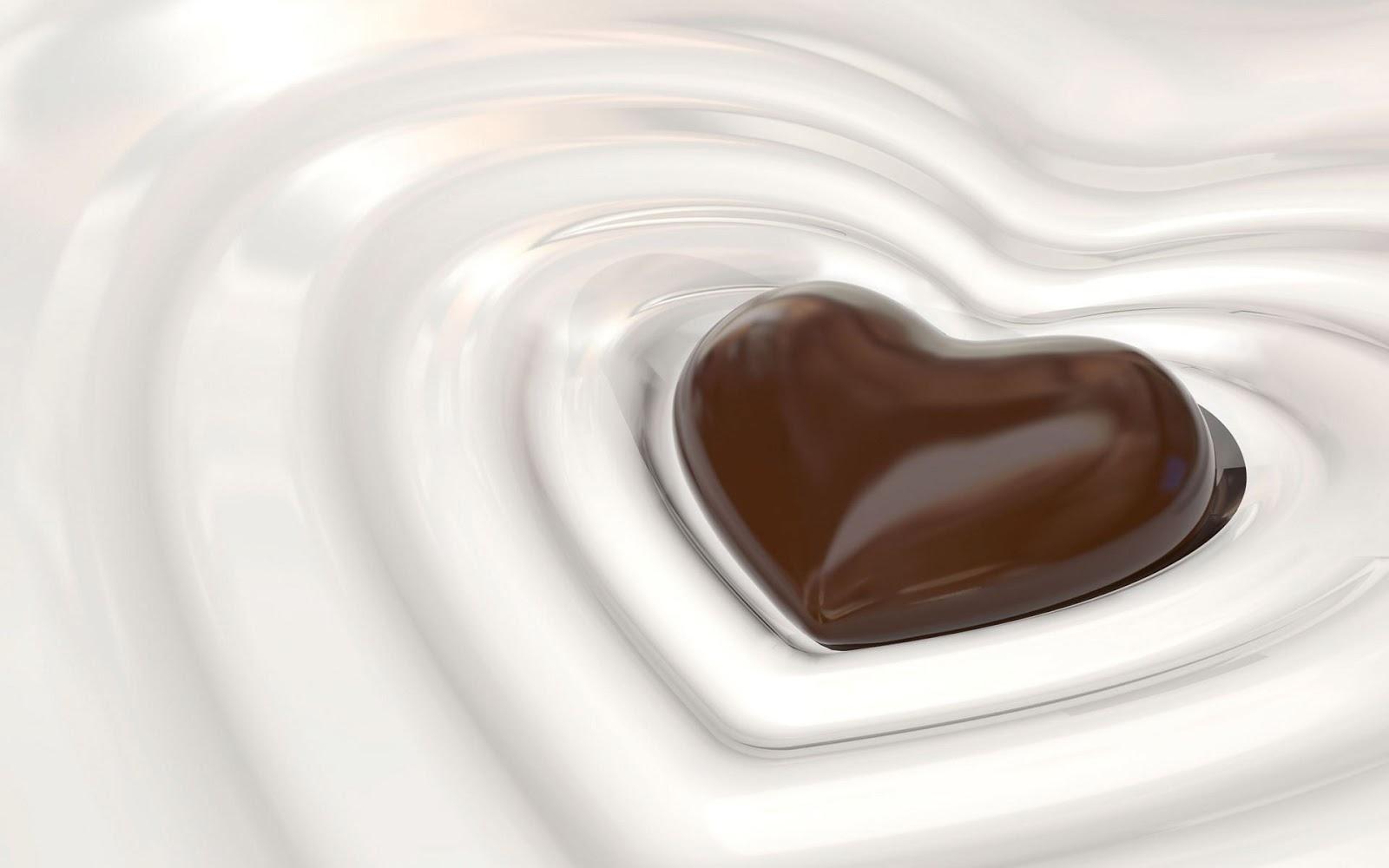 chocolate heart cake wallpaper - photo #27