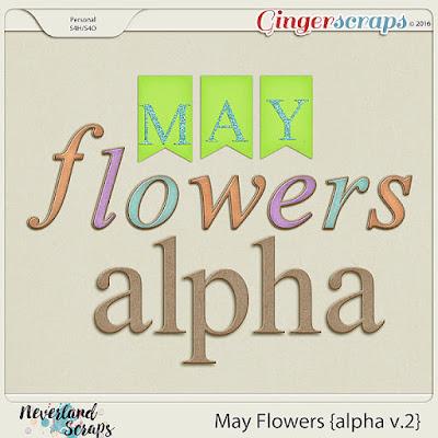 http://store.gingerscraps.net/May-Flowers-alpha-v.2.html
