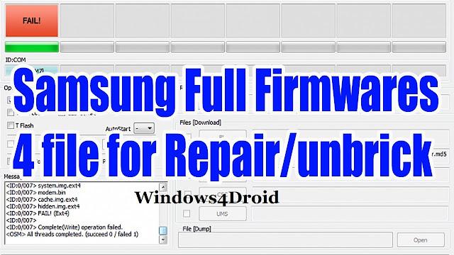 رومات كاملة اربع ملفات لجهاز Samsung Galaxy S Duos GT-S7562