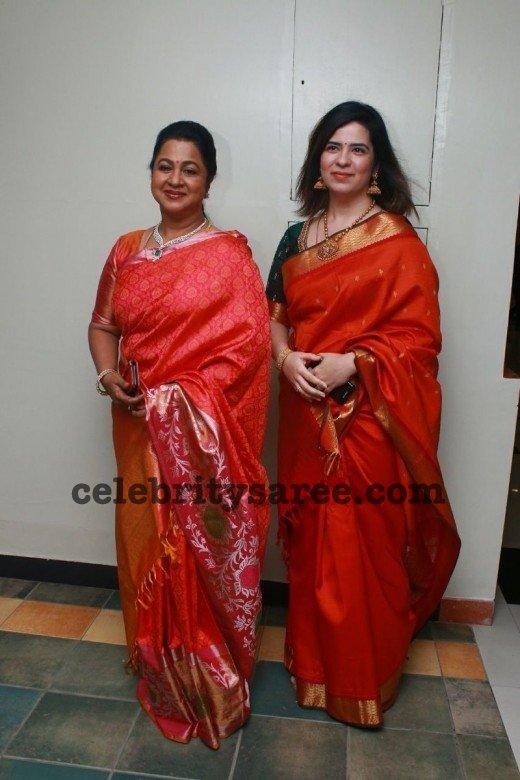 Radhika and Rayanne Silk Sarees