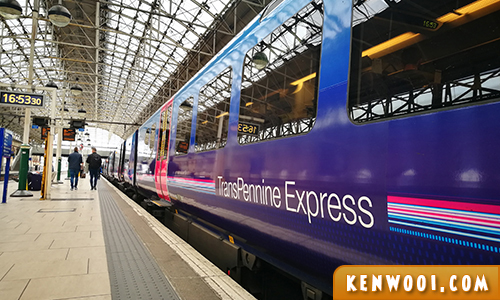 ediburgh transpennine express train