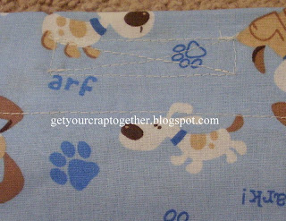 DIY Dog Pillowcase Tutorial for TBT