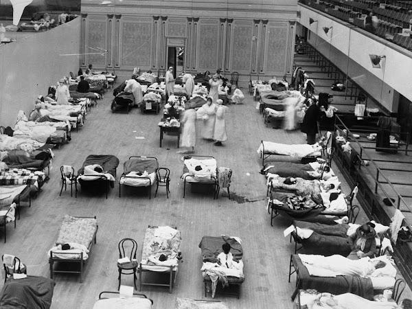 gelesen KW 11 - die spanische Grippe