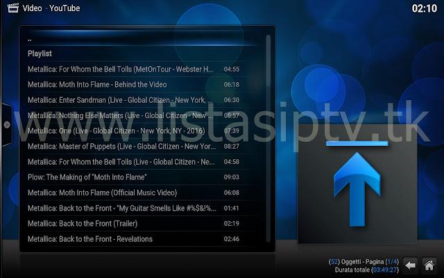 Add-On - Metallica Tv - KODI - Shows, Clipes, e muito mais sobre o Metallica
