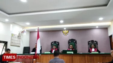 Rusak Baliho Caleg PKB, Ketua PAC PDIP Divonis 4 Bulan Penjara