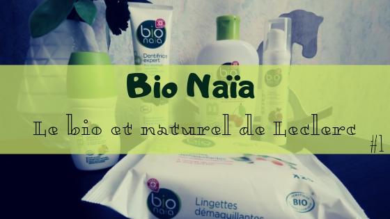 La gamme cosmétique bio et naturel de Leclerc