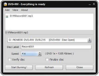 Easy Disc Burner Free Download