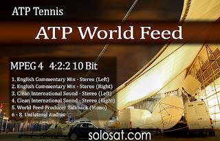 ATP Rolex Shanghai Masters Biss Key Eutelsat 7A/7B 11 October 2018