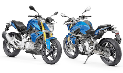 BMW G310R front rear look
