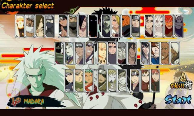 Download Naruto Senki MOD S4 Revolution Full Character Apk Game Terbaru