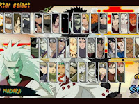 Download Naruto Senki MOD S4 Revolution Full Character Apk Game Terbaru