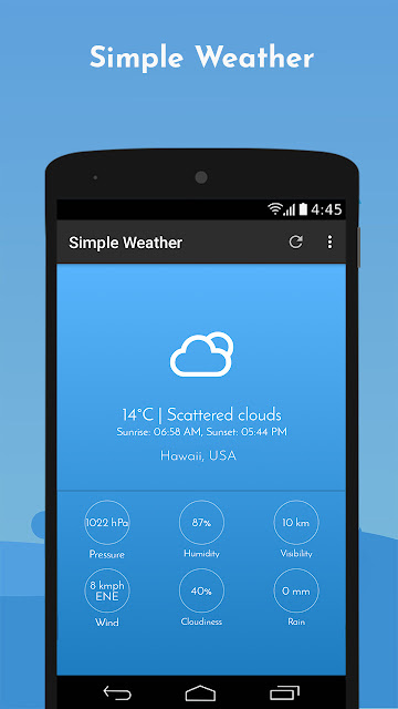 Simple Weather Forecast - Apkafree