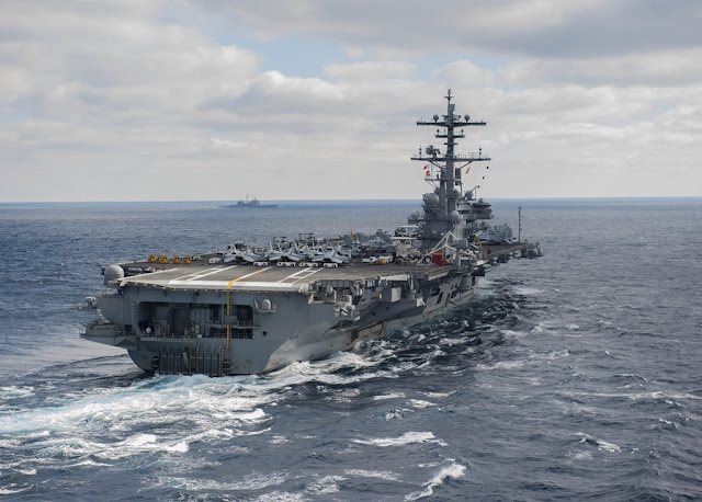 AIRCRAFT CARRIER USS GEORGE H.W. BUSH TO DEPART FOR DEPLOYMENT