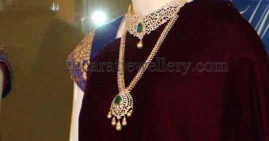 Complete Diamond Wedding Jewelry By Pmj Jewellery Designs