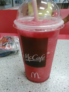 McDonald's Cherry Berry Chiller