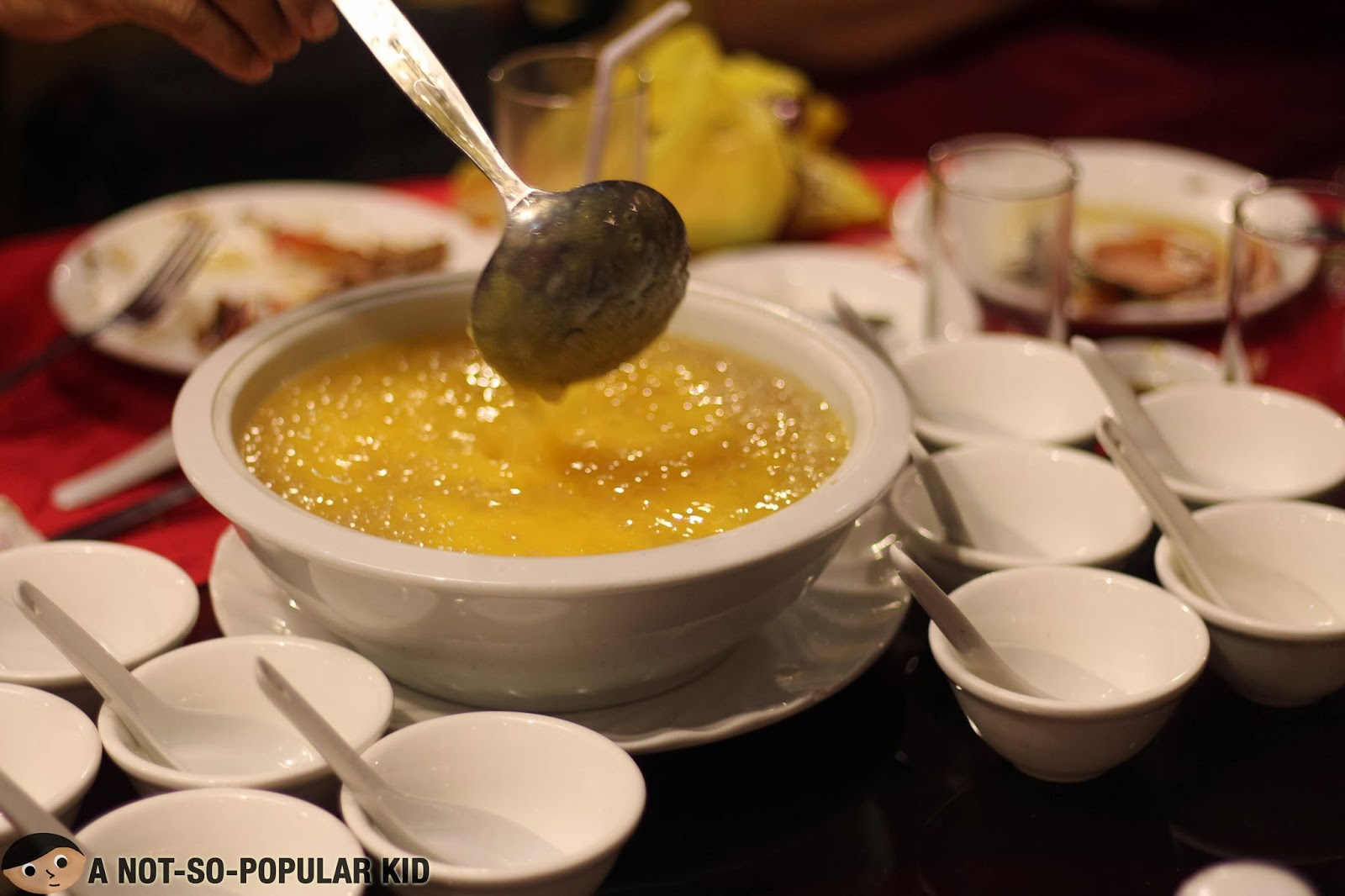 Mango Sago Dessert - a family favorite that I started not to like anymore.