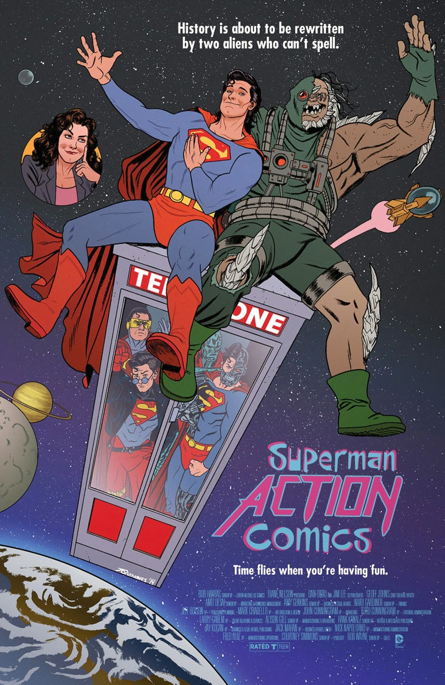 Action Comics / Bill and Ted's Excellent Adventure