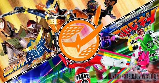 Kamen Rider Gaim vs Ressha Sentai ToQger Sub Indo