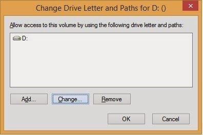 change drive