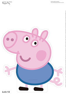 George Pig: Free Printable Centerpieces.