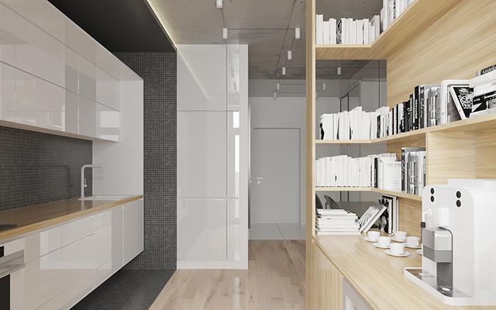 Thiết kế nội thất căn hộ chung cư nhỏ 42m2- 5